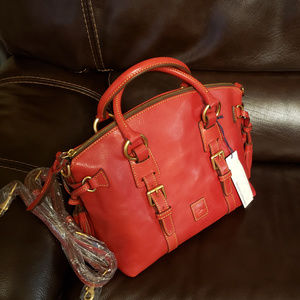 NWT Dooney & Bourke Bristol Florentine Red